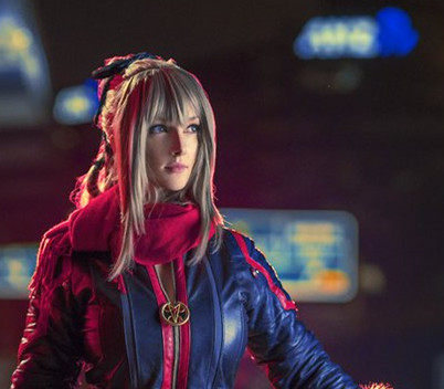 《最终幻想15》女龙骑士精美COS