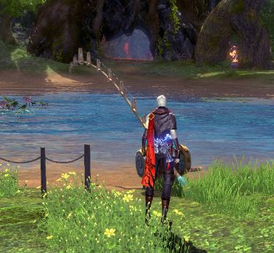 剑灵七夕快乐的源泉 与你一同享受钓鱼的乐趣