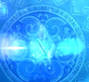 神器修炼场之美 剑灵冰系咒术只需要技能特效