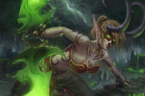 魔兽世界如何区分恶魔猎手浩劫和复仇装备