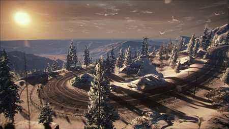风花雪月下的急速追求 极品飞车OL美图欣赏