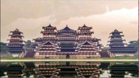 《我的世界》建筑大赛中国风建筑欣赏