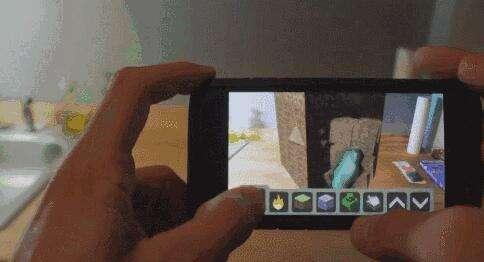 原来如此!iPhone也能玩AR版我的世界