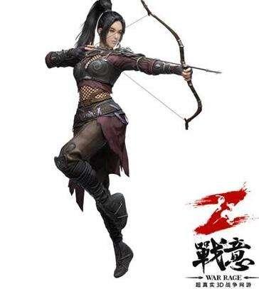 百步穿杨 《战意》女武将登场之短弓篇