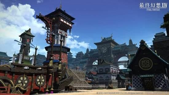 《最终幻想14》4.0磅礴剧情 世界观地图大赏