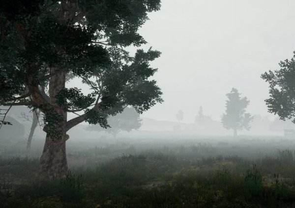 《绝地求生》雾天效果图