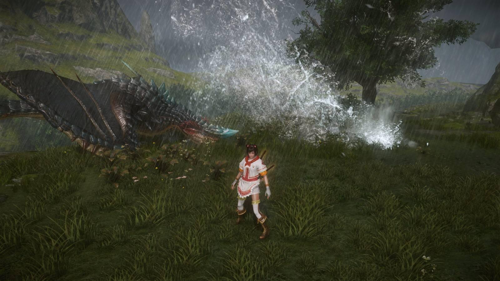 《怪物猎人OL》蛮龙出击 风云涌动