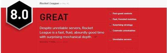 IGN为火箭联盟打出9.3高分 魅力无穷令人惊叹
