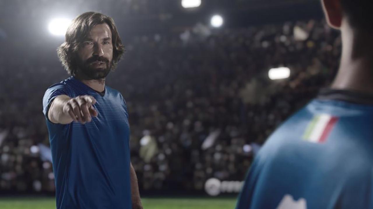 听说拿起FIFA Online4手柄就能见到皮尔洛?