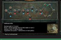 7月12日终极迷宫地图 最短10房间可6钥匙