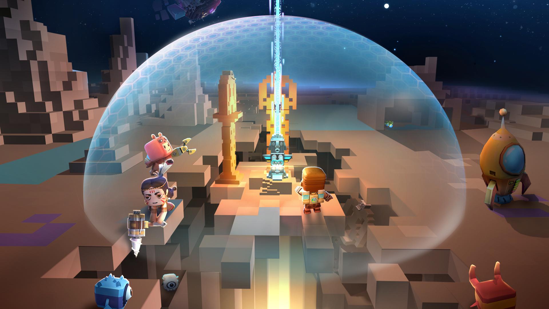 《迷你世界》小小宇航员,向新星球!起航!