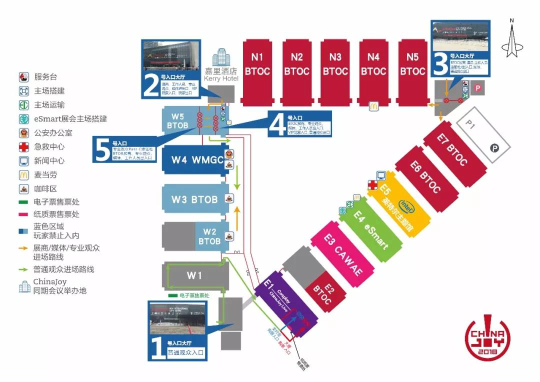 2018 ChinaJoy BTOB/WMGC展商名单正式公布
