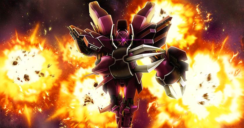 紫色玫瑰《机动战士敢达OL》新机华丽登场!