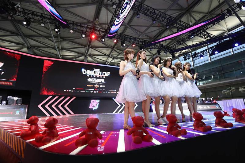 第十六届ChinaJoy次日官方电竞大赛舞台精彩回顾