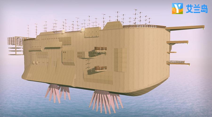 《艾兰岛》致敬宫崎骏 超高还原《天空之城》献礼32周年