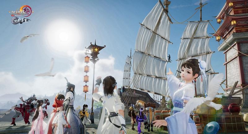《剑网3》蓬莱预热活动25日正式开启