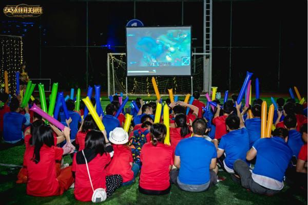 S8总决赛将至 看全国高校学生花式助威BUFF