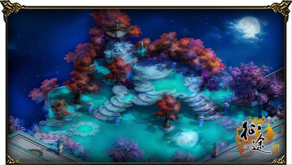 夜游《征途》桃花岛  不一样的夜色撩人!