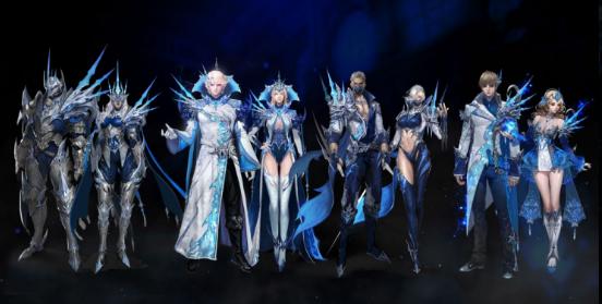 《永恒之塔》全新资料片今日更新,冰之圣物激情永恒一起来战!