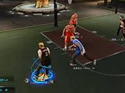 NBA2KOL街头玩法 靠打移动进阶鬼步
