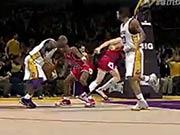 NBA2KOL巅峰科比面对乔丹十佳球