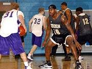 NBA巨星罕见高中旧照 帅气逼人的詹姆斯