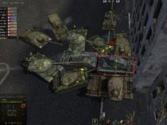坦克惊喜镜头欣赏:对不起!你太矮了