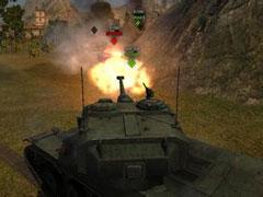 坦克视频:口径教你做人 704的输出量