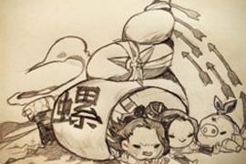 剑网3同人搞笑漫画 唐八狗的虐丐帮日常