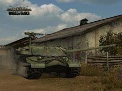 坦克世界视频:费舍尔湾上方TD黑枪点位
