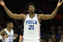 NBA2KOL恩比德复仇说到做到打得唐斯只想躲