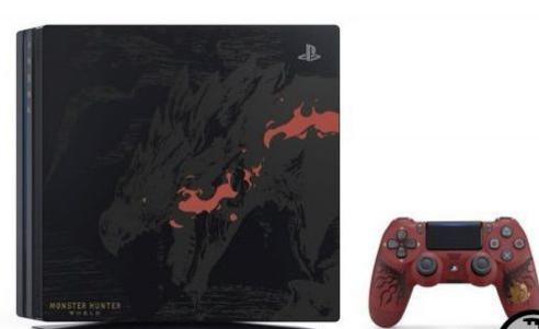 怪物猎人雄火龙限定PS4 Pro主机将推港版