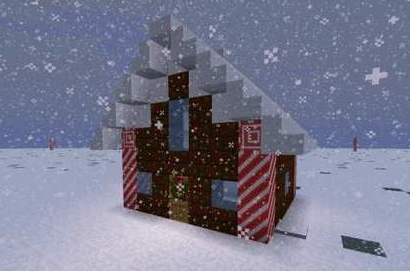 《我的世界》邀你来冰雪世界一起过圣诞节