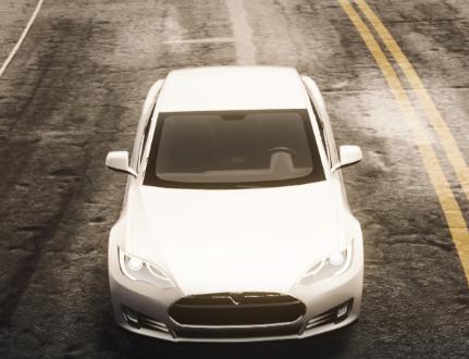 极品飞车OL赛车研究室 特斯拉 Model S测评