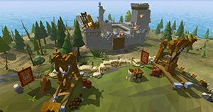 艾蘭島游戲場景截圖 一覽廣闊的多邊形世界