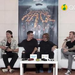 OneRepublic携生而竞速MV首次中国专访回顾