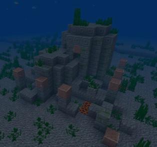 全新海底遗迹 我的世界水下世界等你探索
