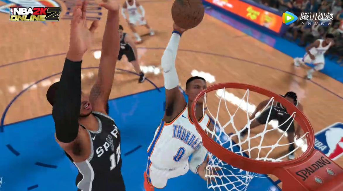 NBA2K Online2-精彩比赛镜头2