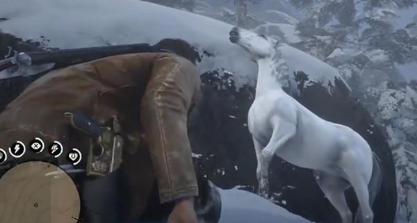 荒野大镖客阿拉伯白马在哪里抓