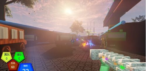 FPS游戏《圆锥头》免安装下载