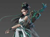剑网3剑胆琴心千秋岁 皎灵素媚披风华丽CG