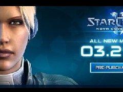 """星际2""""诺娃隐秘行动""""DLC 美服3.29上线"""
