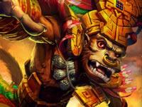 神之浩劫玛雅神明猢安·巴茨 咆哮猿神资料
