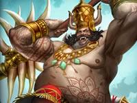 神之浩劫印度神明昆巴卡纳 沉睡的巨人资料