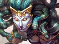 神之浩劫希腊神明美杜莎 蛇发女妖资料