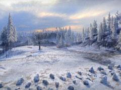 坦克世界冬季地图攻略之极地冰原