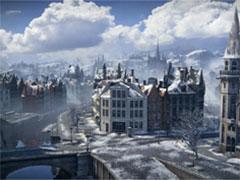 坦克世界冬季地图攻略之飓风小镇