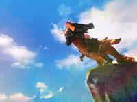 天谕熔铠魔龙坐骑及深渊龙翼翅膀视频