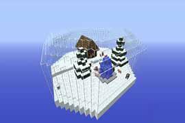 《我的世界》雪晶空岛建筑下载