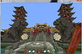我的世界最大玄幻RPG冒险地图盘灵古域